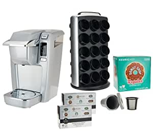 Keurig Coffee Maker Not Powering Up : Amazon.com: PLATINUM Keurig K10 Coffee Maker w/ 30 K-Cup Packs, My K-Cup & Carousel: Home ...