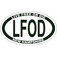 LFOD - Live Free or Die Euro Sticker