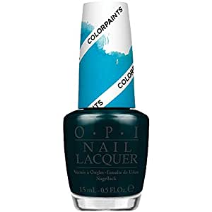 OPI Nail Lacquer, Turquoise Aesthetic, 0.5 Ounce