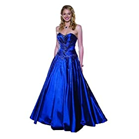 evening gowns - blue Prom Dresses