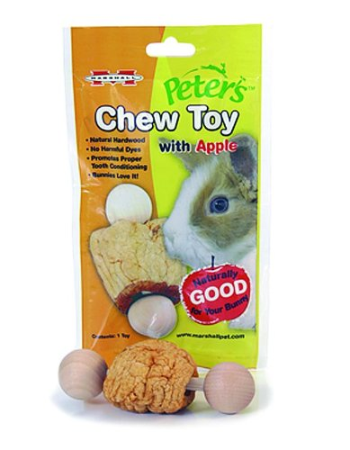 Peter's Chew Toy for Rabbits and Small Animals, Apple