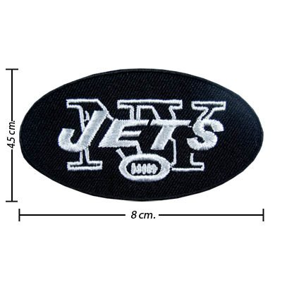 New York Jets Logo I Embroidered iron on patches at Amazon.com