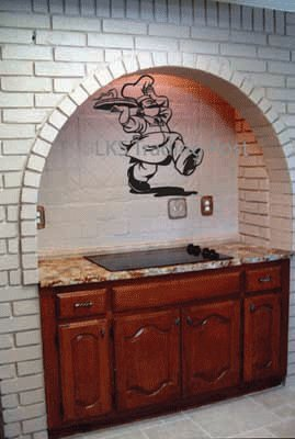 Chef Vinyl Wall Decal Sticker Graphic By LKS Trading Post