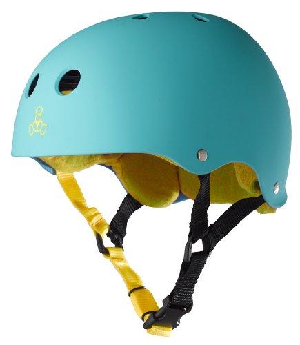 triple-eight-helmet-with-sweatsaver-liner-baja-teal-rubber-medium