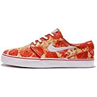 Nike SB Mens Zoom Stefan Janoski Skateboarding Shoes (Red)