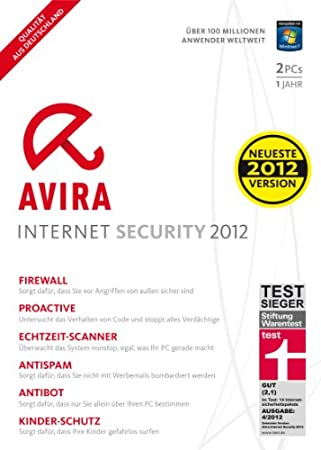 Avira Internet Security 2012 - 2 User