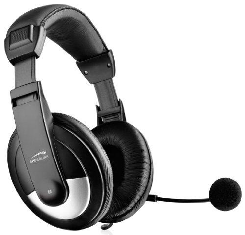 Speedlink Thebe SL-8743-SBK-02 Stereo Headset für PC