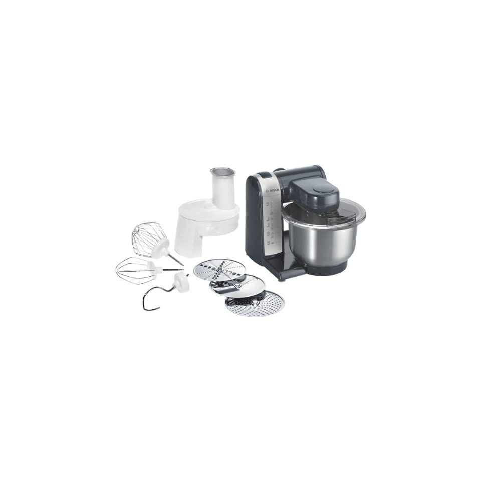 Bosch Mum48a1 Kuchenmaschine 600 Watt Edelstahl Ruhrschussel On