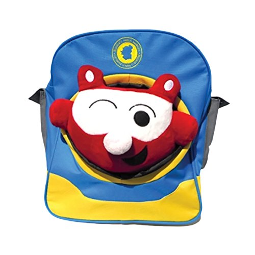 Patchbuddies School Kids Toddler Kevin Mao And Electric Blue Backpack Set front-259382