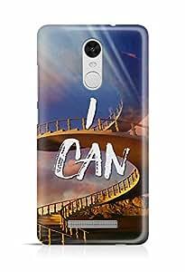 YuBingo I Can Designer Mobile Case Back Cover for Xiaomi Redmi Note 3
