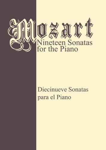 Mozart 19 Sonatas - Complete: Piano Solo