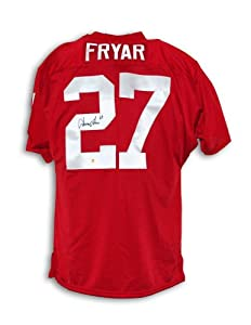Irving Fryar Autographed Jersey - Nebraska Cornhuskers Throwback - Autographed... by Sports+Memorabilia