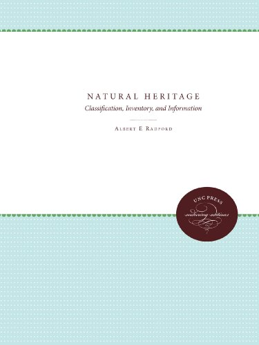 Natural Heritage: Classification, Inventory, and Information