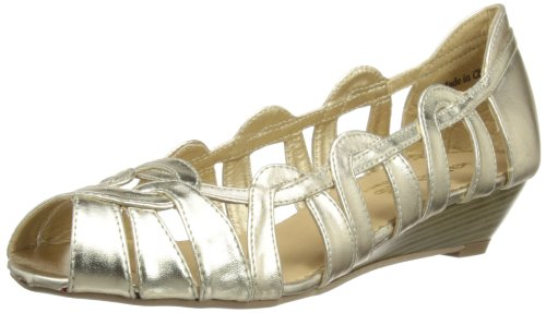 Head Over Heels Womens Moxy Fashion Sandals 0154508740003393 Gold 5 UK, 38 EU