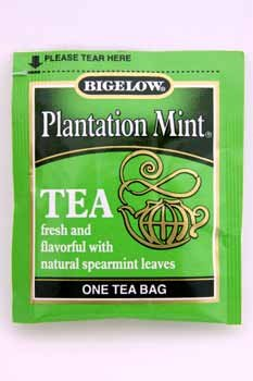 Bigelow Plantation Mint Tea [168 Pieces] *** Product Description: Bigelow Plantation Mint Tea. Single Bag In Sealed Packet. ***