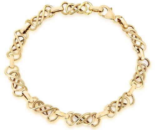 9ct Yellow Gold Celtic Bracelet 19cm/7.5