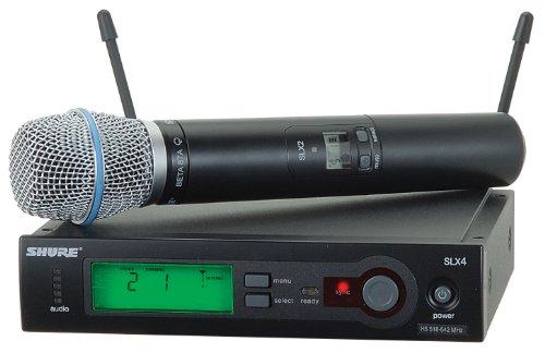 Shure Slx24/Beta87A Handheld Wireless System, L4