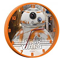 Reloj Star Wars Episodio VII pared BB8 de KIDS EUROSWAN