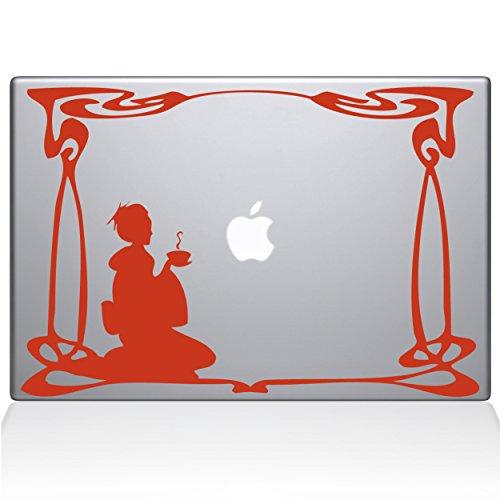 "Green Tea 11"" Macbook Air Persimmon Decal Sticker"