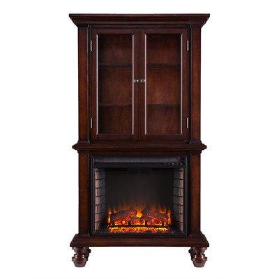 Wildon Home Suttonfield Curio Electric Fireplace