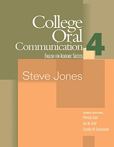College Oral Communication 4 (Houghton Mifflin English...