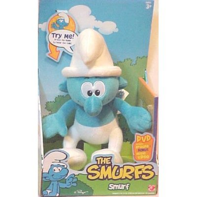 "Smurfs 12"" Plush with Sounds and DVD - 1"