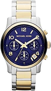 Michael Kors Runway Two Tone Mid Size Men's Watch - MK5751