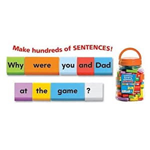 Sentence Building Dominoes