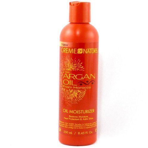 Creme of Nature Argan Oil Oil Moisturizer 250 ml by Creme of Nature (English Manual)