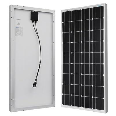 RENOGY® 100 Watt 100w Monocrystalline Photovoltaic PV Solar Panel Module 12V Battery Charging