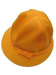黄色・通学帽子(小学生用)・ (56, 女児)