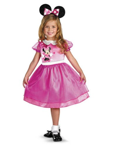 Baby-Toddler-Costume Pink Minnie Mouse Basic Toddler Costume 3T-4T