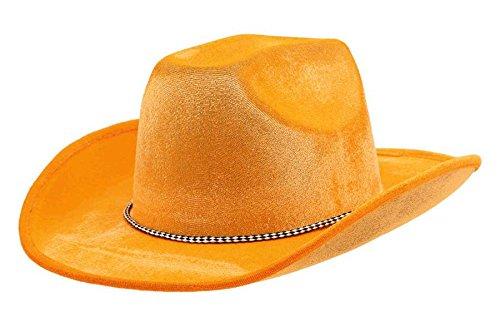 Orange Cowboy Hat