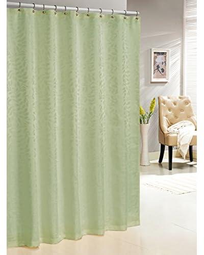 Duck River Textile Baltic Shower Curtain, Sage