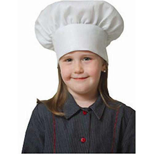 Kids White Chef Hat - One Size
