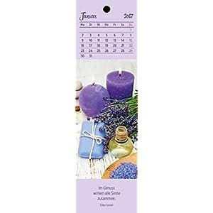 Der kleine Wohlfühlkalender 2017: Lesezeichenkalender
