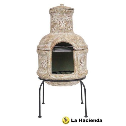 cheminee la hacienda star flower chemin e d 39 ext rieure en. Black Bedroom Furniture Sets. Home Design Ideas