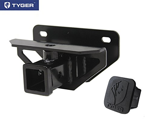 TYGER® Class 3 Hitch & Cover Kit Fits 2003-2015 Dodge Ram 1500/2500/3500 OE Style 2 inch Rear Receiver Hitch Tow Towing Trailer Hitch Combo Kit (Hitch Cover included.) (2015 Dodge Ram Rear Bumper compare prices)