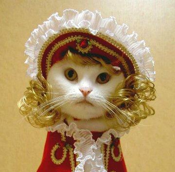 キャットプリン マーガレット王女ちゃまシリーズ ボンネット