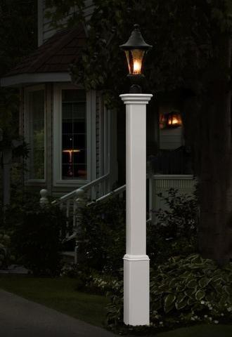 new england arbors madison lamp post lawn patio. Black Bedroom Furniture Sets. Home Design Ideas
