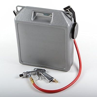 Portable Air Sandblaster Kit Sand Blaster Abrasive Hand Held Tank Shop ATE Tools