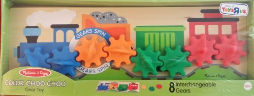 Melissa & Doug Color Choo Choo 8 Gear Toy - 1