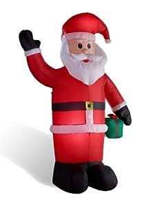 Weihnachtsmann aufblasbar LED - beleuchtet 240 cm von  in [ProductCategories]