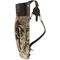PU Leather Outdoor Hunting Arrow Quiver Archery Arrow Holder Messenger Bag