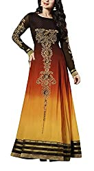 The Magical Thread Women's Georgette Unstitched Dress Material (MR-DN112_Multicolor_Free Size)