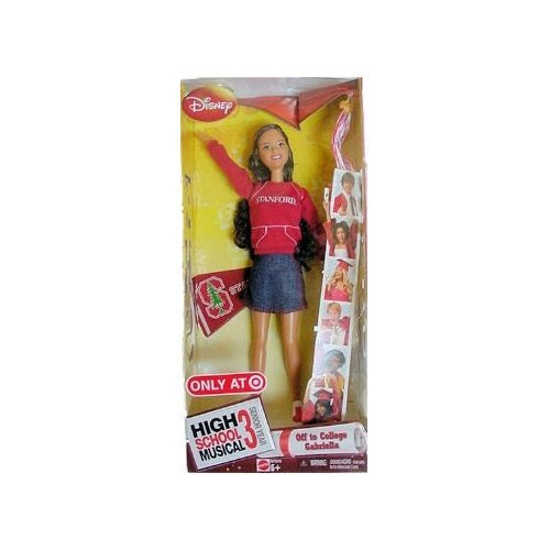 Buy Low Price Mattel High School Musical 3: Senior Year College Doll – Gabriella/ Stanford University Figure (B001IZA7T0)