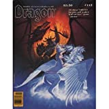 Dragon Magazine, No. 115 (0394745671) by Mohan, Kim