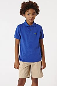 Boy's Short Sleeve Classic Pique Polo