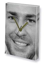 JOHN KRASINSKI - Canvas Clock (LARGE A3 - Signed by the Artist) #js001