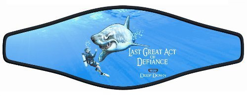 New Comfortable Neoprene Strap Wrapper for Your Scuba Diving & Snorkeling Mask - Last Great Act of Defiance (Deep Down) by Innovative Scuba Concepts